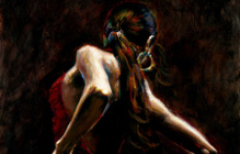 Art by Fabian Perez Oil Paintings