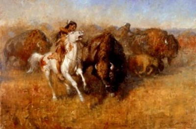 Andy Thomas Buffalo Hunt
