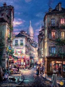 cao yong a stroll in monmartre