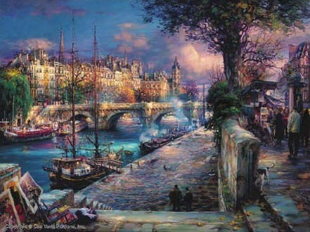 cao yong banks of la seine