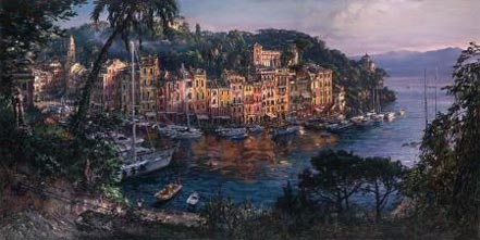 cao yong morning in portofino