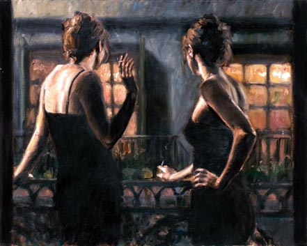 fabian perez cenisientas of the night ii