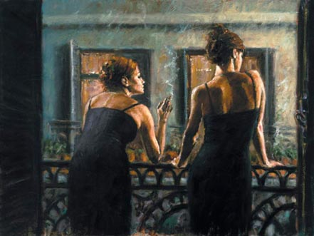 fabian perez cenisientas of the night