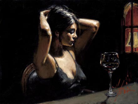 fabian perez dark room i
