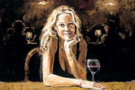 fabian perez first blonde