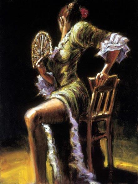 fabian perez flamenco dancer ii