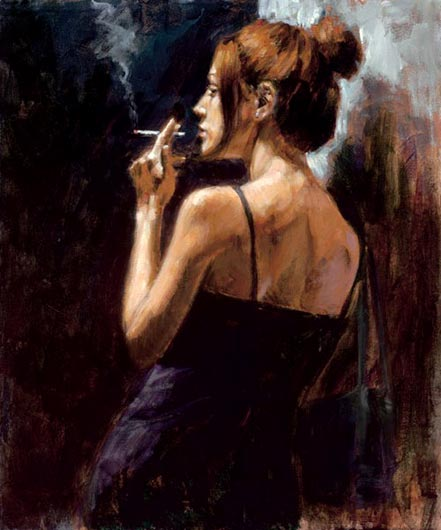 fabian perez full moon empty heart