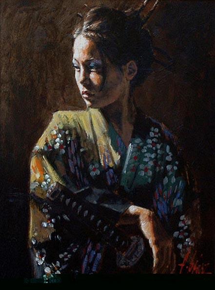 fabian perez geisha ii