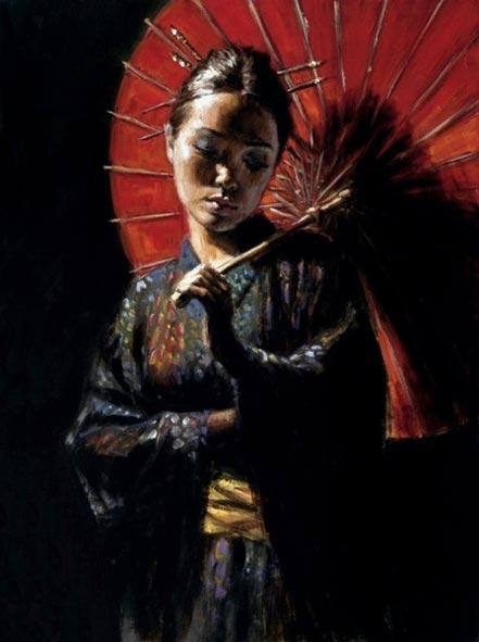 fabian perez geisha iii