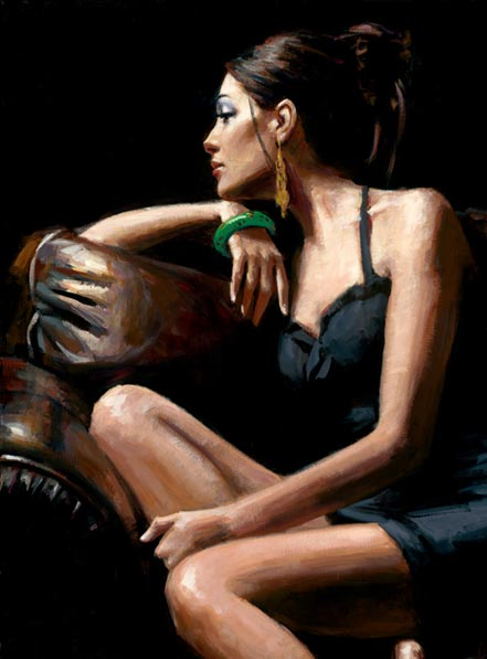 fabian perez living room iv