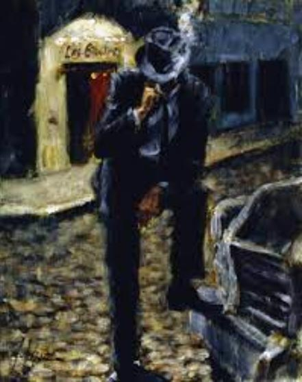 fabian perez outside las brujas