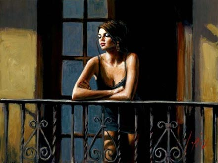 fabian perez saba at the balcony vi