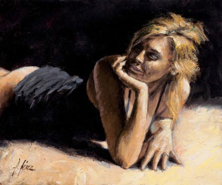 fabian perez second blonde
