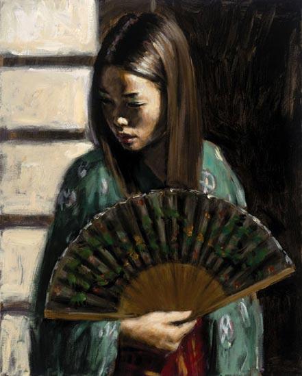 fabian perez study japanese girl iii