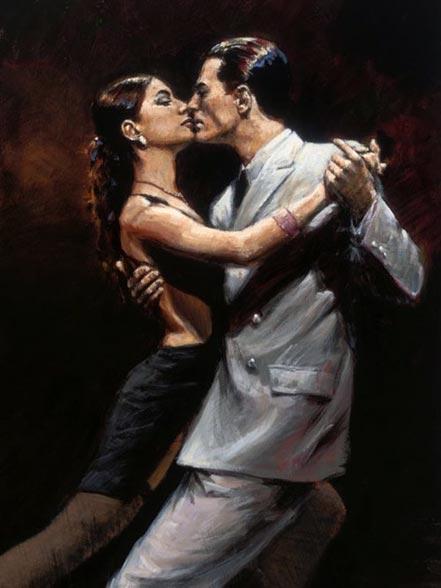 fabian perez study tango in paris