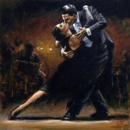 fabian perez study for tango v