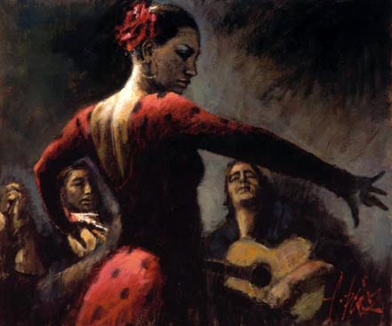 fabian perez tablado flamenco ii