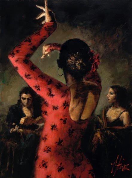 fabian perez tablado flamenco iv