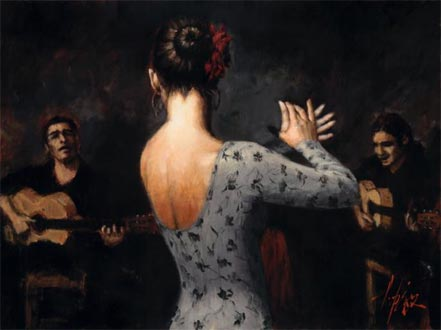 fabian perez tablado flamenco v