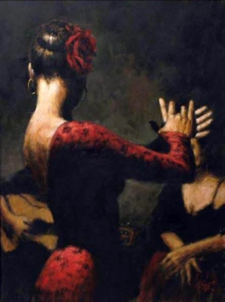 fabian perez tablado flamenco