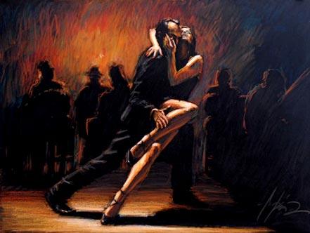 fabian perez tango study in pastel