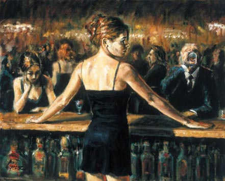 fabian perez the bartender