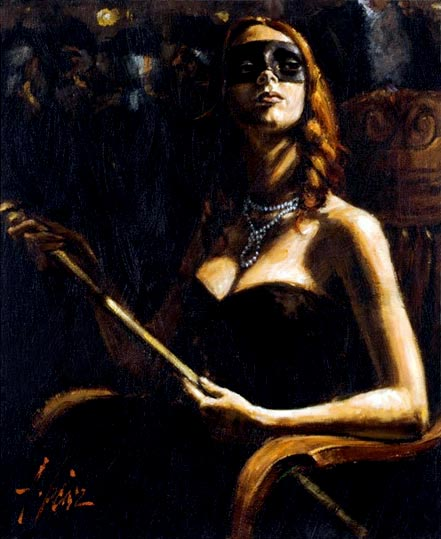 fabian perez the noble cortesana