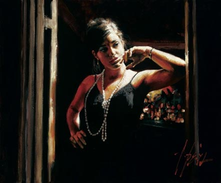 fabian perez waiting for customers ii