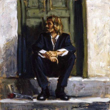 fabian perez waiting for the romance to come back