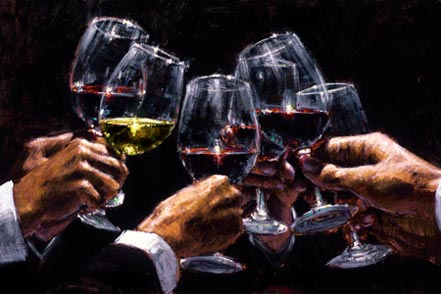 fabian perez white and red ii Fabian Perez Paintings