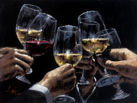 fabian perez white and red