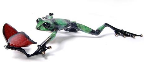 frogman taking flight