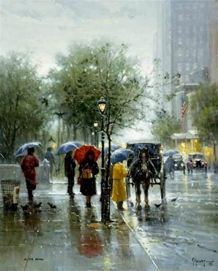 g harvey october showers