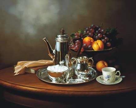 lex gonzalez silver tea set