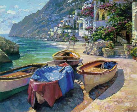 howard behrens capri boats