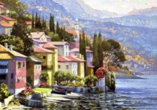 howard behrens impressions of lake como
