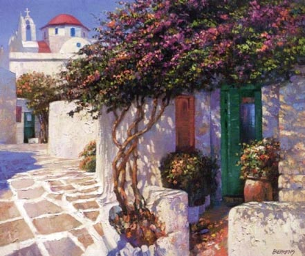 howard behrens memories of mykonos