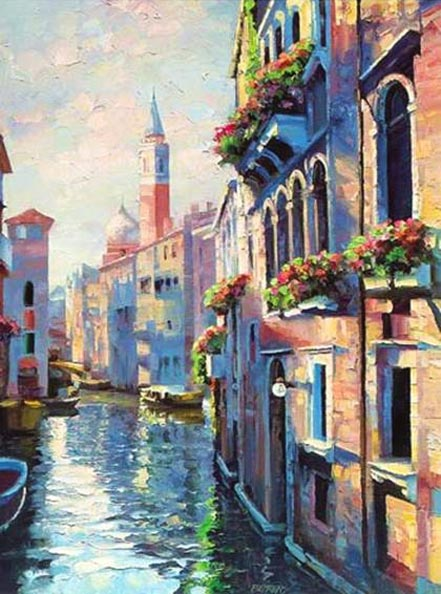 howard behrens morning in venice