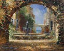 james coleman courtyard fountain