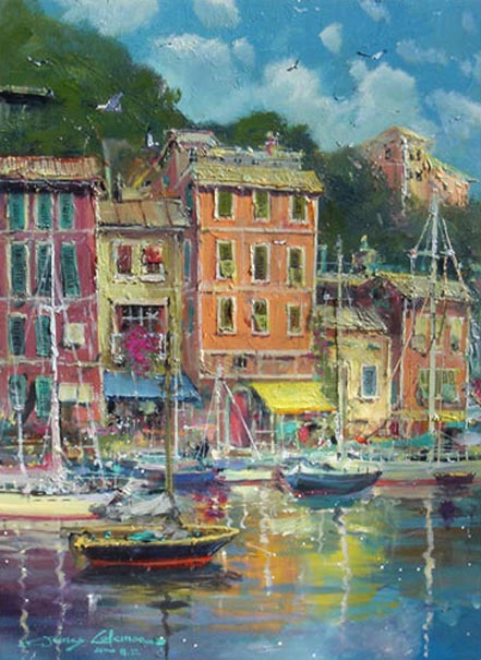 james coleman portofino reflections