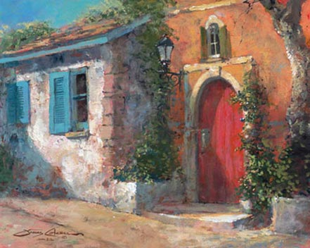 james coleman the red door