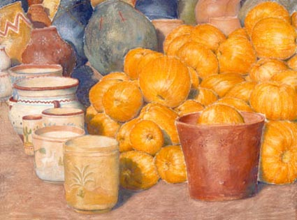 lynn freed pumpkins and pots
