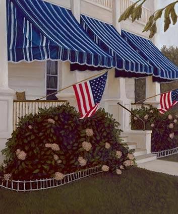 lynn freed red stripes and blue