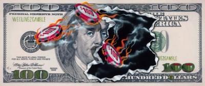 michael godard $100 we olive to gamble