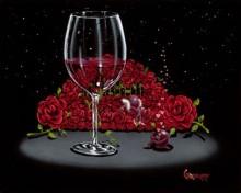 michael godard bed of roses