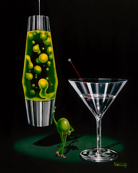 michael godard devilish martini