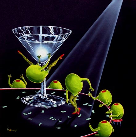 michael godard dirty martini ii