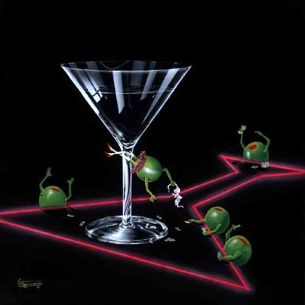michael godard dirty martini iii
