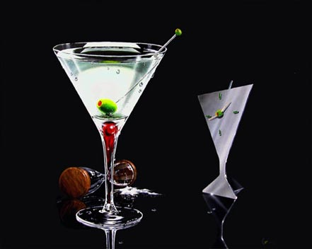 michael godard martini time