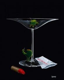 michael godard mystery martini